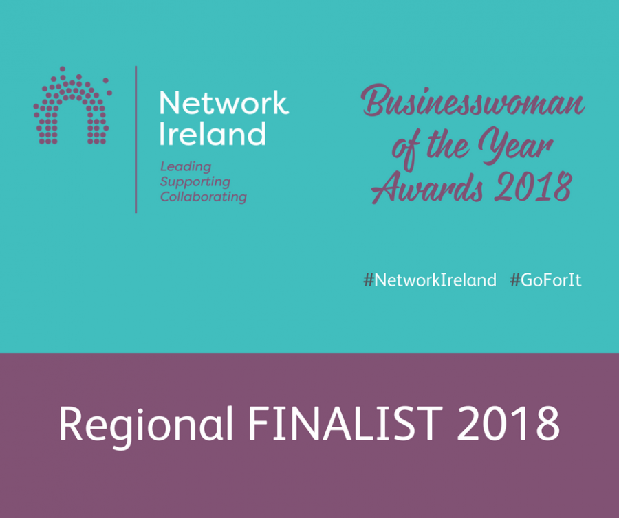 Finalist in Network Ireland Businesswoman of 2018