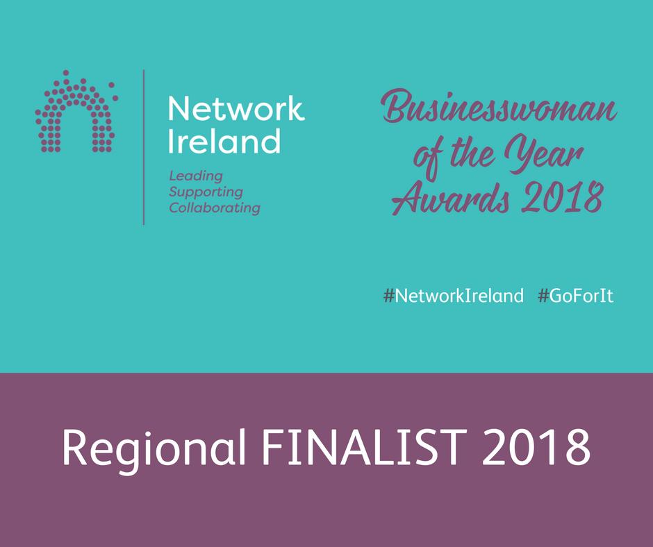 Finalist in Network Ireland Businesswoman of 2018